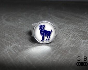 Aries Ring Adjustable Zodiac Ring Aries Zodiac Ring Aries Jewelry Adjustable Aries Ring Adjustable Zodiac Ring Aries Jewelry Ring Zodiac