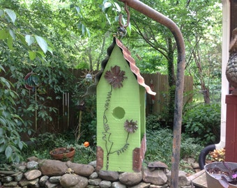 GRANNY SMITH APPLE Green Lunchbox Bird Feeder