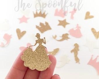 Disney Princess Confetti, Glitter Princess Confetti, Glitter Confetti, Princess Confetti