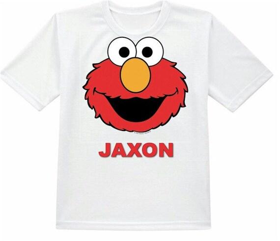 Happy Birthday Elmo Shirt 2nd Shirts Girls T Personalized By AmishTradingCompany