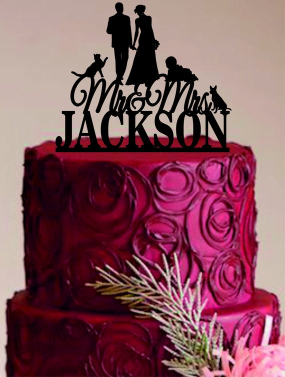 funny family wedding cake toppers wedding cake topper family wedding cake by 14544