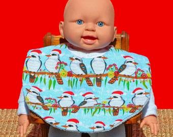 Christmas bib - Christmas clothing - Baby bib - Baby's 1st Christmas - Baby gifts - Baby shower gifts - Baby Christmas gift - Australian bib