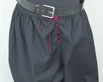Medieval noble Pants, Rustic Pants, Pirate Pants, Renaissance Pants, Victorian  Pants, Black Pants