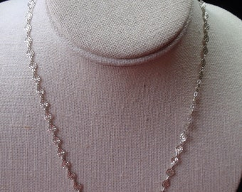 """Milor Sterling 17"""" Circular Style Chain"""