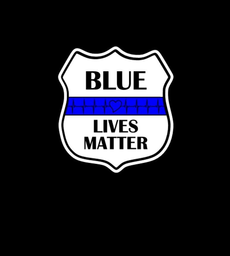 BLUE LIVES MATTER Decal Police Lives Matter Decal Deputies