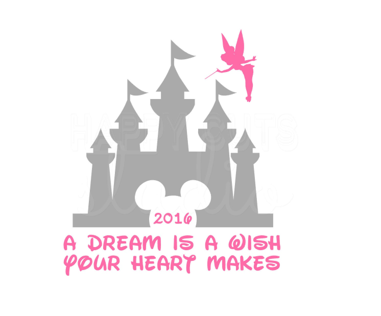A Dream is a Wish Your Heart Makes Disney Dream Tinkerbell A Dream Is A Wish Your Heart Makes Shirt