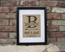 Burlap Party Decor 49th Birthday Gift Housewarming Decorations Valentines Gift For Newborn Gifts For Dad Beer Gifts For Kitchen Personalized