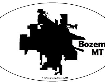 Bozeman, MT Bumper Sticker
