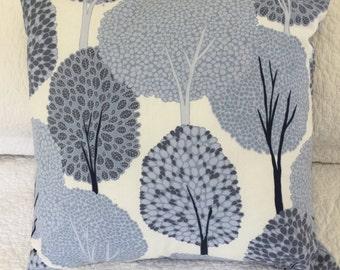 "Beautiful Blue Trees - Cushion Cover 45 x 45cm (18x18"")"