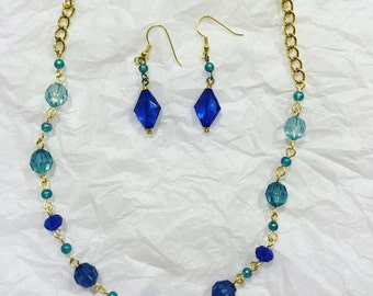 Blue and gold set 1