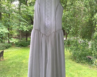 Reduced Price! Gunne Sax by Jessica McClintock Romantic Lace Summer White Dress