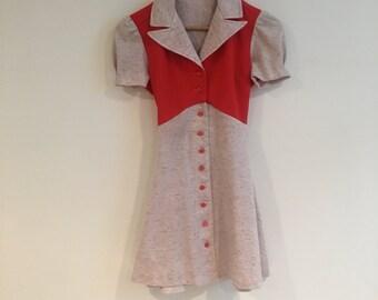 Adorable 60s Mini-Dress!