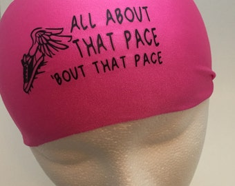 Running Headband ~Yoga Headband~ Workout Headband- All about that pace