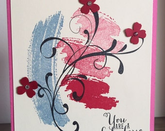 C42 Everyday card, Any occasion card, Handmade Card