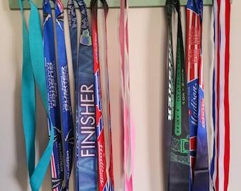 """Handmade Running Medal Display """"I Run 'California'"""""""