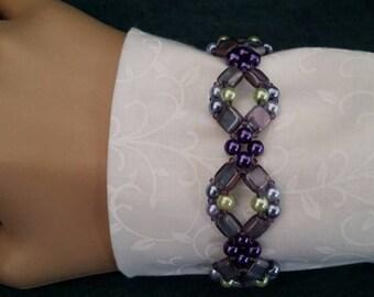 """Beaded Bracelet Handmade 7"""""""
