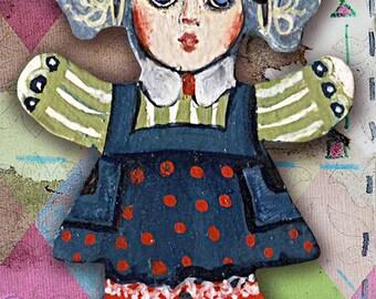 Cute Girly Clown Doll