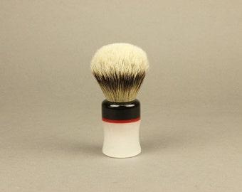 Acrylic Handle Shaving Brush, Acrylic Shaving Supplies, Natural Bristle Shaving Brush, Shaving Brush, Vintage Acrylic Style, shaving gift