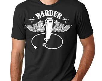Barber T-Shirt Gift For Barber Shirt Barber Shop Hairdresser Hair Stylist Tee Shirt