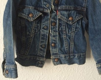 Rare 1950s Levis Sample Jacket - Big E