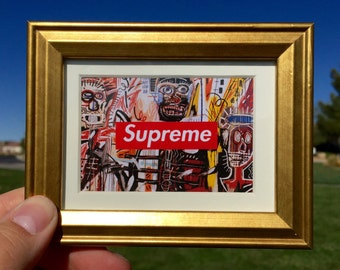 Supreme NY Painting - Mini Framed Art (FREE S&H)