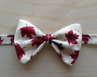 Oh Canada - Pet bow tie