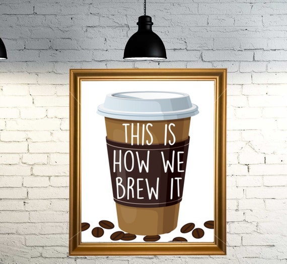 Kitchen Art Nz: Coffee Sign Funny Coffee Sign Coffee Wall Art Funny Kitchen