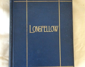 Longfellow 1902 Complete Poems Illustrated