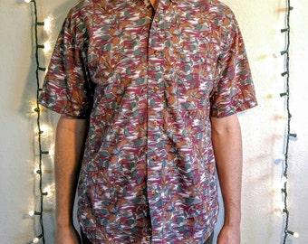 Vintage Flower Tornado Shirt