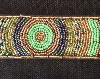 Beaded Bracelet with Varied Stones