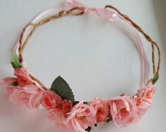 Blush, Flower Crown/Wreath