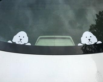 Dog Car Decals Etsy