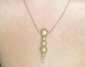 Bubble Drop Necklace
