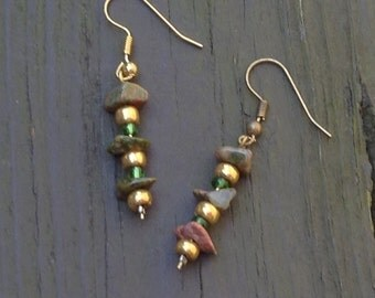 Moss And Stone Earrings!