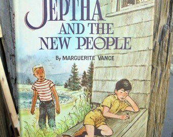 Jeptha and the New People, Vintage Children's Book