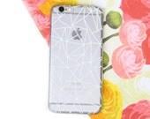 Geometric Clear iPhone 6 Case