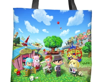 Animal Crossing: New Leaf Sublimated Tote Bag