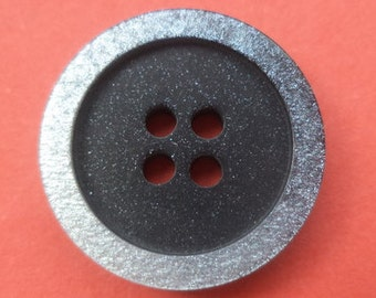 8 buttons Black Silver 21mm (1145) button