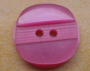 10 buttons 18mm pink (6434) button