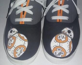Women's BB-8 R2D2 Droid shoes
