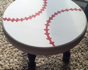 Baseball Step Stool Etsy