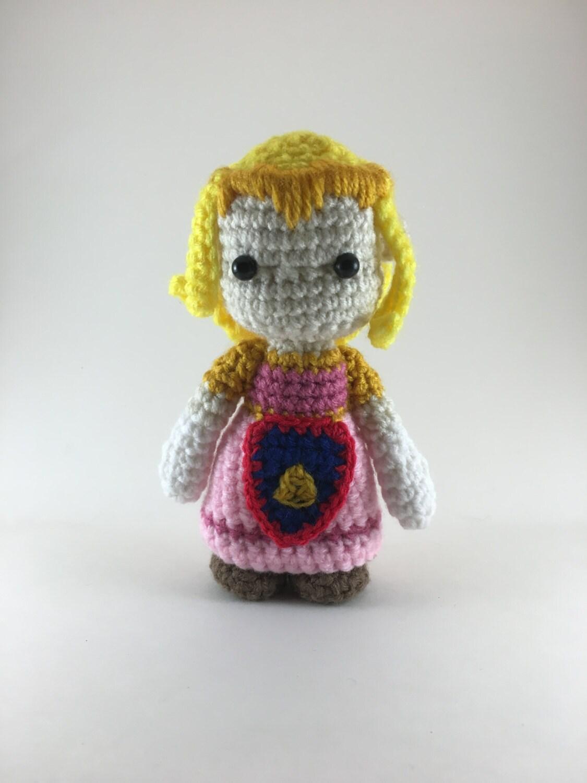 Amigurumi Zelda : Crochet Amigurumi Zelda