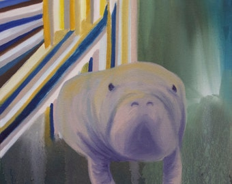 Manatee at a Rave