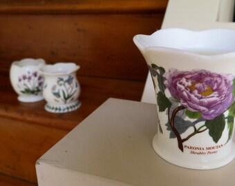 Vintage Floral Candle Set