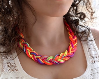 Rainbow Multicolor Necklace