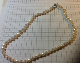 Cultured Pearl Strand - 61 Pearls - 6.5 mm to 7 mm - 16 to 17 inches
