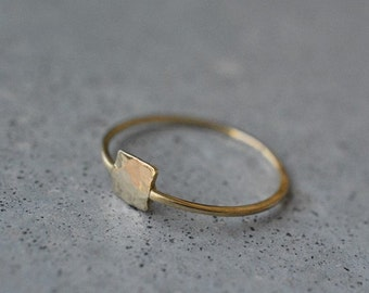Free shipping, solid gold ring, 14k gold, yellow gold, Wedding Band, gold ring, gold band, gold wedding band, Stackable Ring, minimalis ring