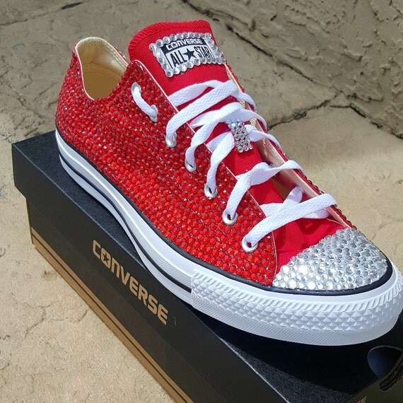 030a38319c7b Red Bedazzled Converse – switchsecuritycompanies