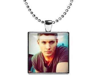 Dean Winchester Supernatural Necklace Pendant Fandom Jewelry Jensen Cosplay Fangirl Fanboy