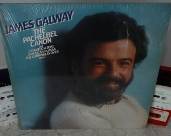 James Galway–The Pachelbel Canon 1981 ( LP, Album, Vinyl Record ) Classical - Pop Music